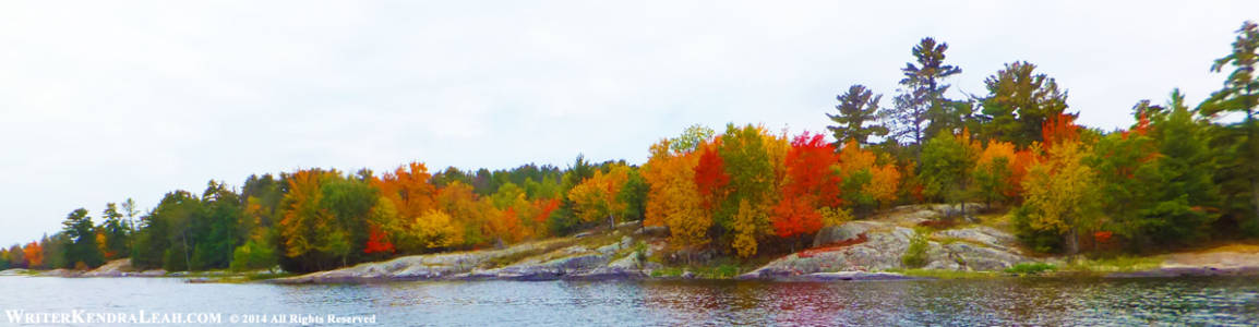 Autumn Brilliance on Kabetogama Lake, Voyageurs National Park