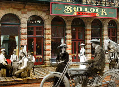 Bullock Hotel in Deadwood, South Dakota