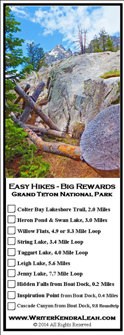 Easy Hikes with Big Rewards, Grand Teton National Park